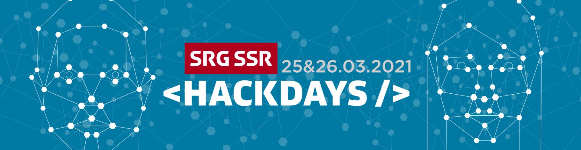 SRG SSR HACKDAYS